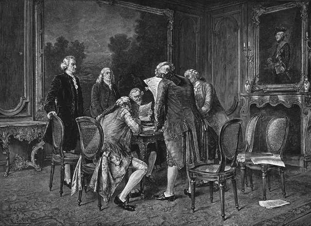 Congress ratifies prelimintary peace treaty