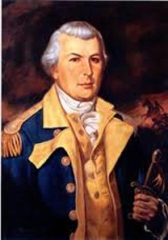 Nathanael Greene becomes comander of the southern patriot army