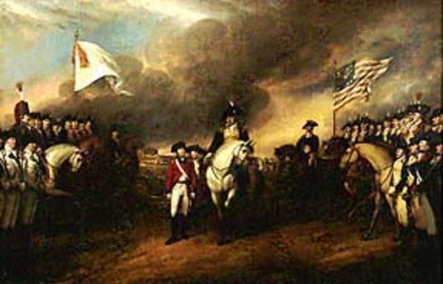 Final battle at Yorktown
