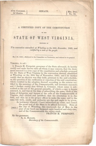 The First Virginia Constitution