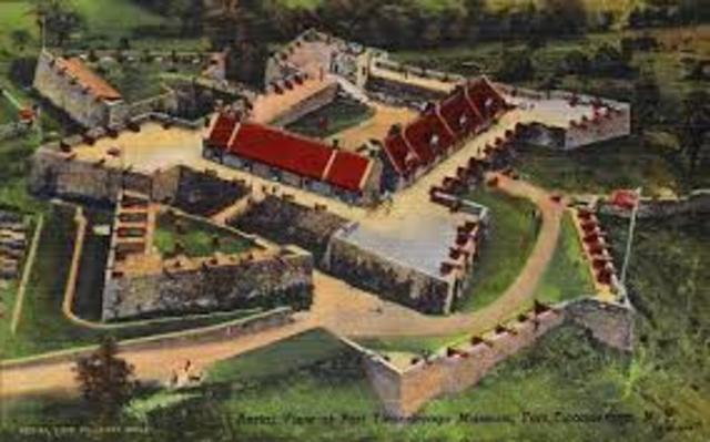 Seige of Fort Ticonderoga
