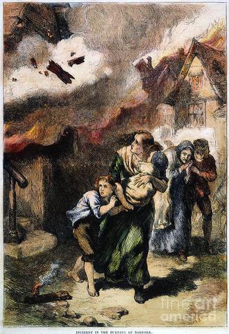 Burning of Norfolk