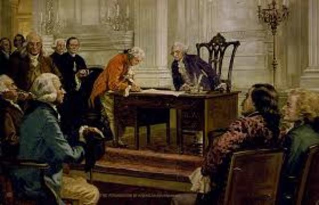Signing of the Constitiution
