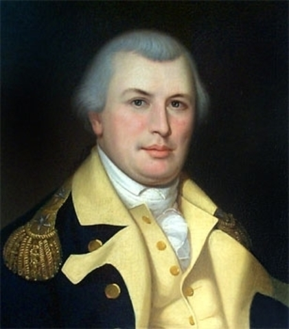 Nathanael Greene named commander of the Southern Army