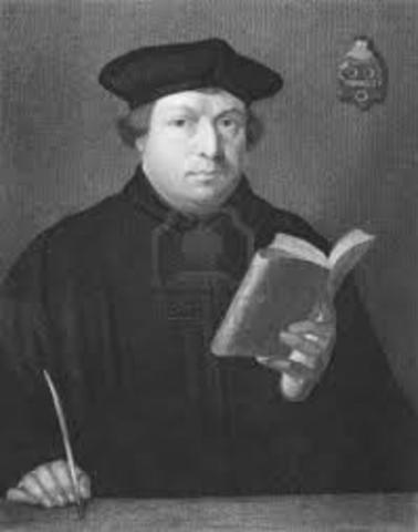 Luther Gains a Doctorate in Theology