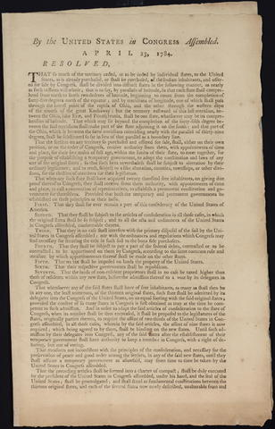 Ordinance of 1784