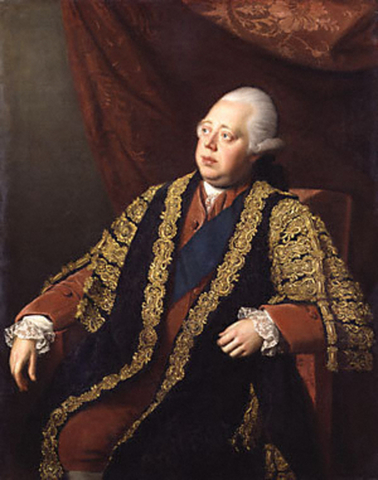 Lord North resigns as British prime minister