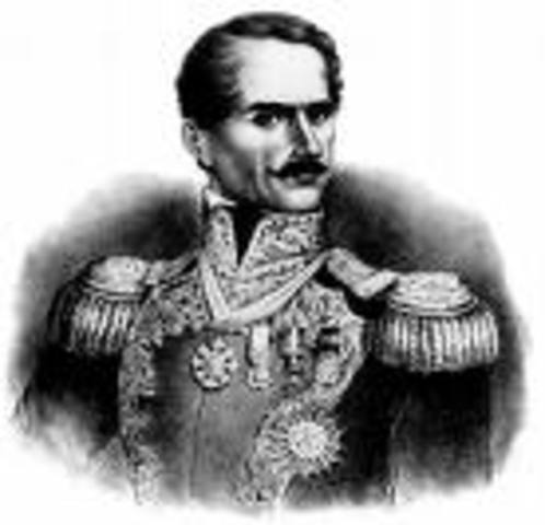 Santa Anna's government