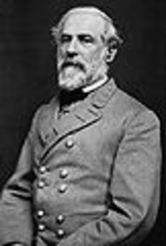 Robert E. lee's