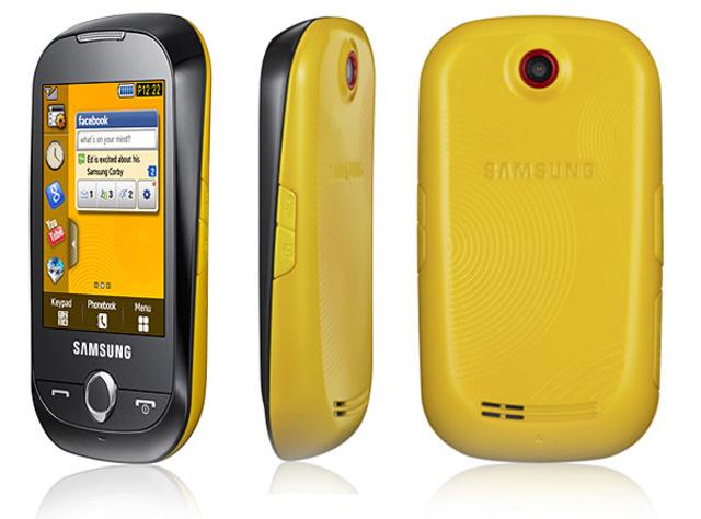 Samsung Corby, Aparece el táctil