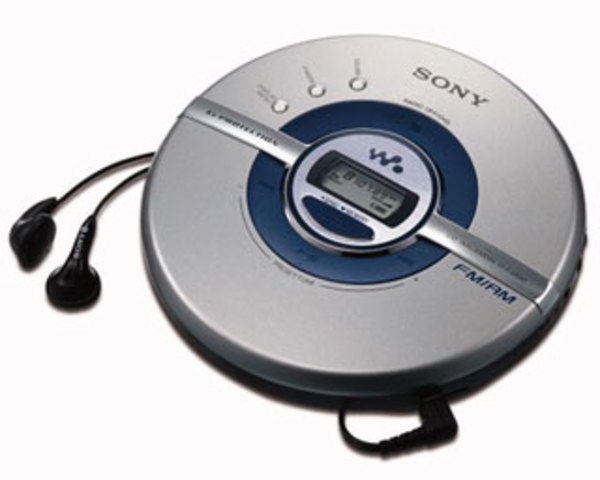 Lector de CD Walkman