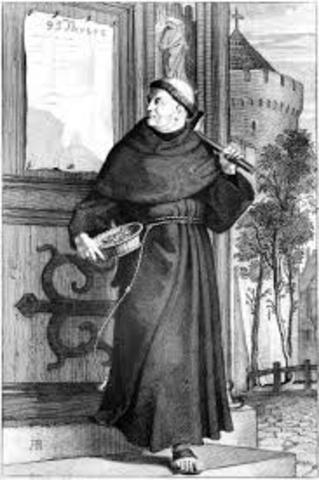 Martian Luther posts 95 Theses