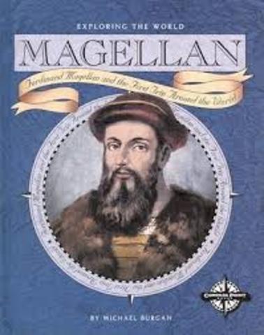 """Magellan starts his """"around the wold"""" trip"""