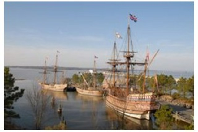 Jamestown, colony in virginia is founded