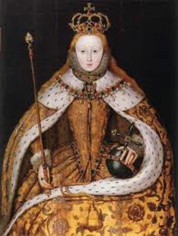ElizabethI become Queen of England