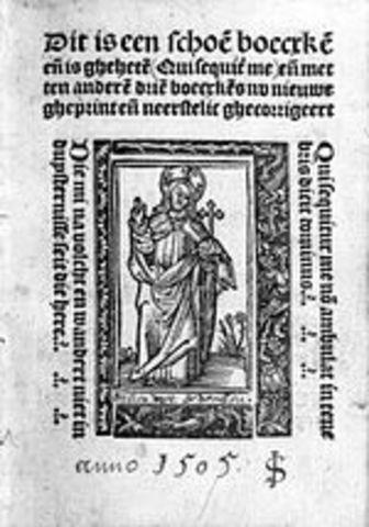 Thomas à Kempis Writes the Imitation of Christ