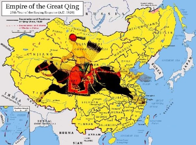 Quing Dynasty in China begins