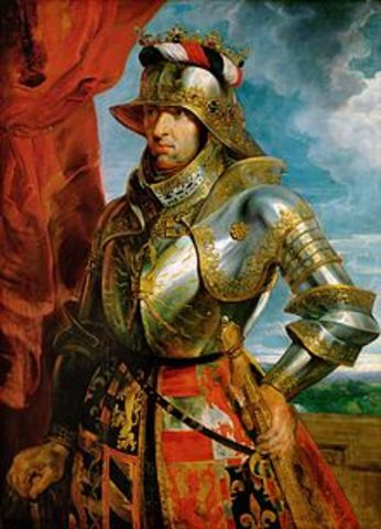 Maximilian I Marries Mary of Burgundy