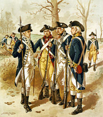 Continental Army is Officially Created