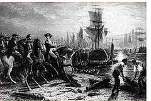 Fall of Boston
