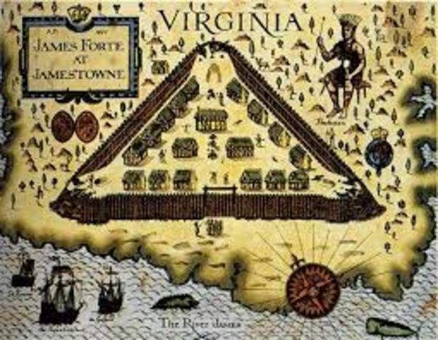 Jamestown, colony in Virginia,Founded