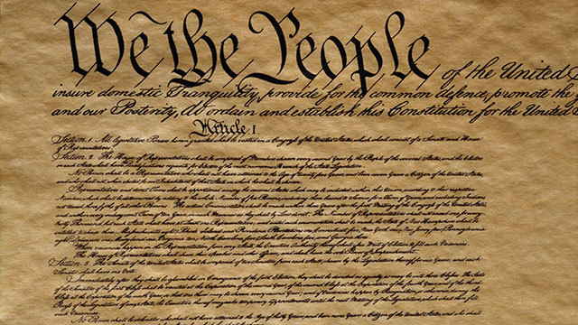 U.S Constitution is ratified