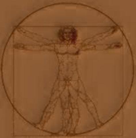 Hombre de Vitruvio
