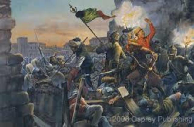 Ottomans Conquer Constantinople