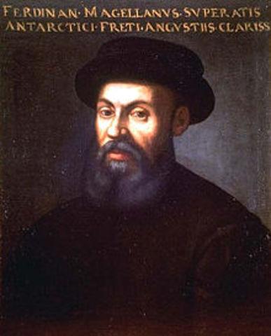 Magellan Sails the globe