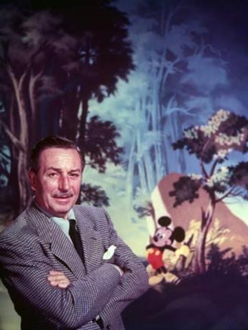 Walt Disney Passes Away