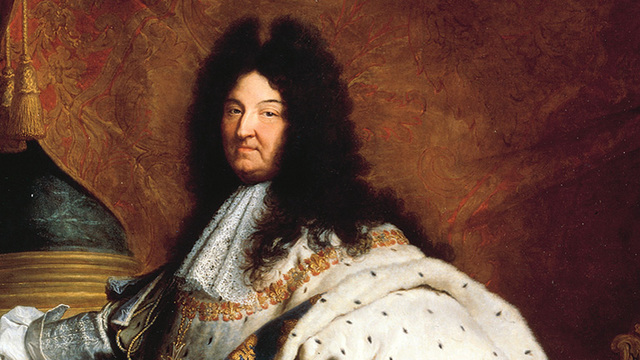 Louis XIV becomes King of France