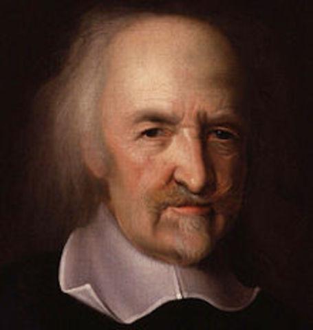 "Thomas Hobbes write ""Leviathan"