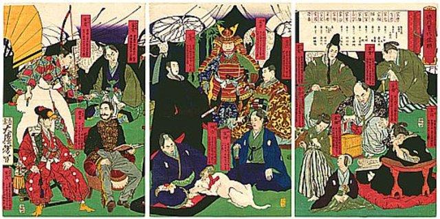 Tokugawa Shogunate ends