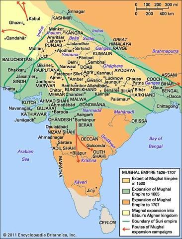 Mughai Empire begins