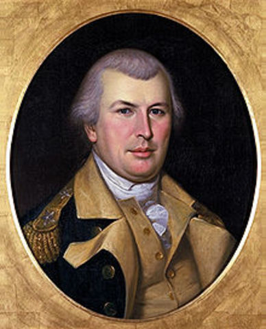 Nathanael Greene is named Commander of the South