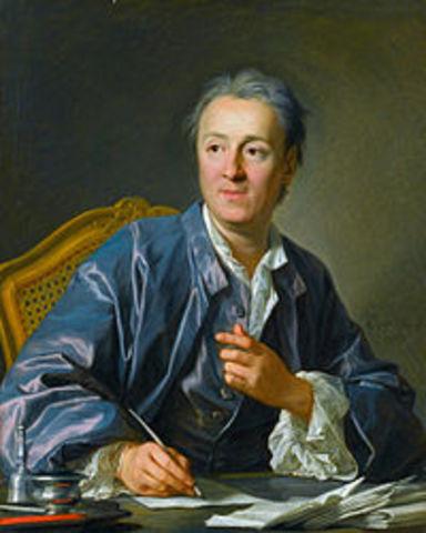 Nacimiento de Denis Diderot