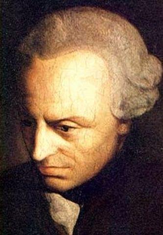 Nacimiento de Emmanuel Kant