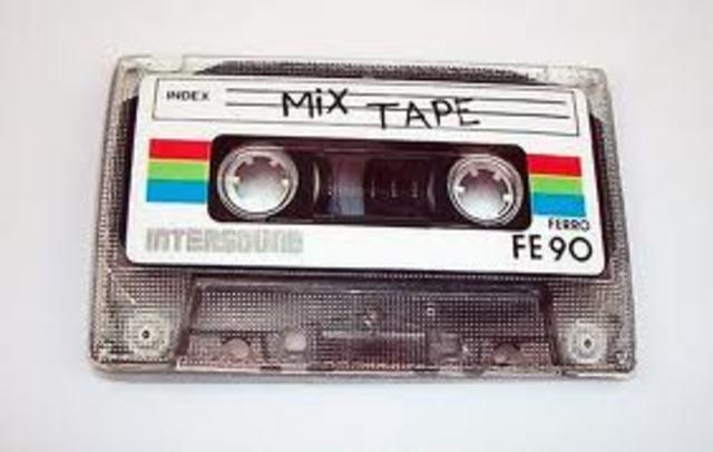 Cassette audio.