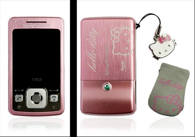 Sony Ericsson T303 Hello Kitty