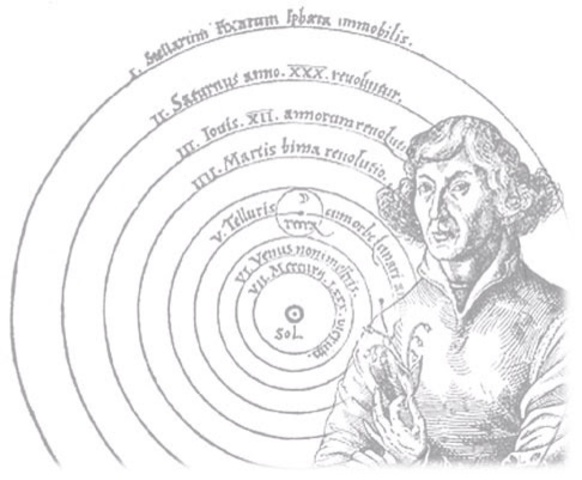 copernicitis publishes heliocentric theory
