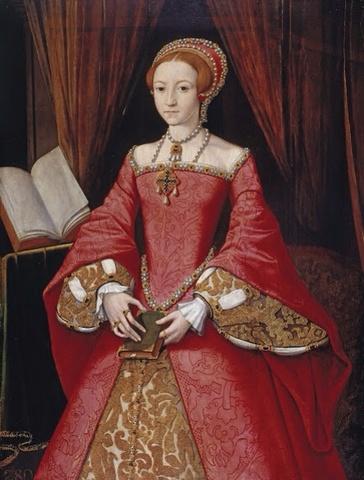 elizebeth I became queen of England