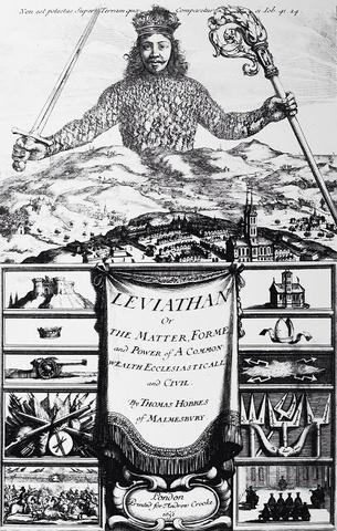 Thomas hobbs writes Leviathan