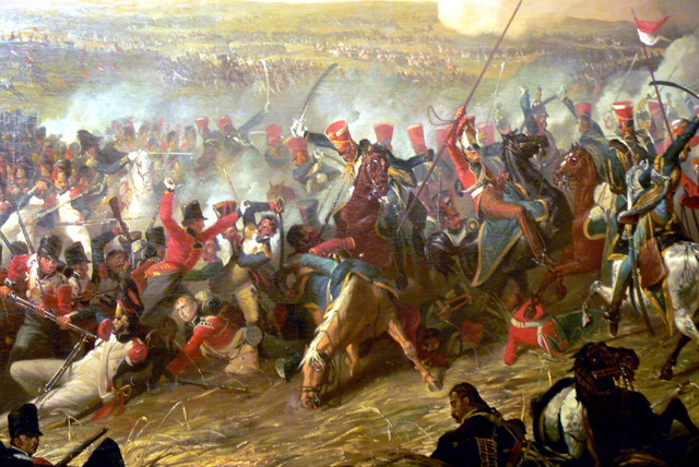 Napolean Defeated at Waterloo