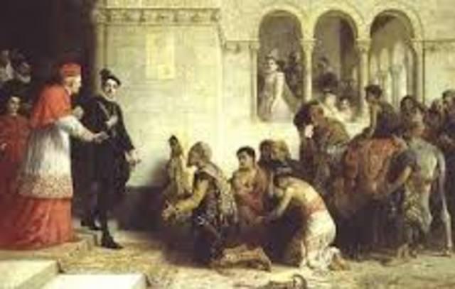 Jews, gypsies & moors expelled from spain.