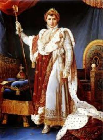 Napoleon became Emperor