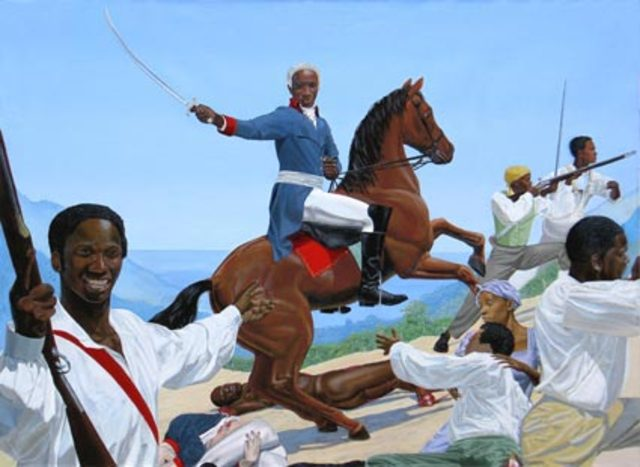 Successful Slave Revolt in Saint Domingue