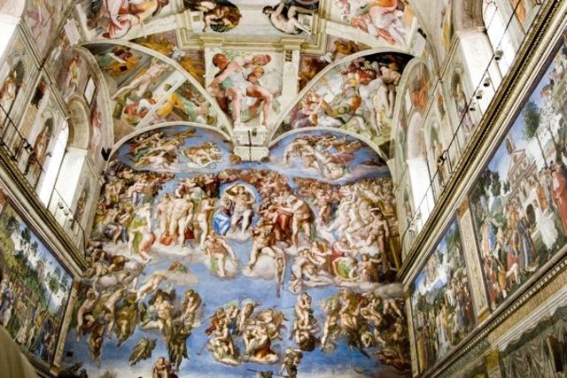 Michelangelo died