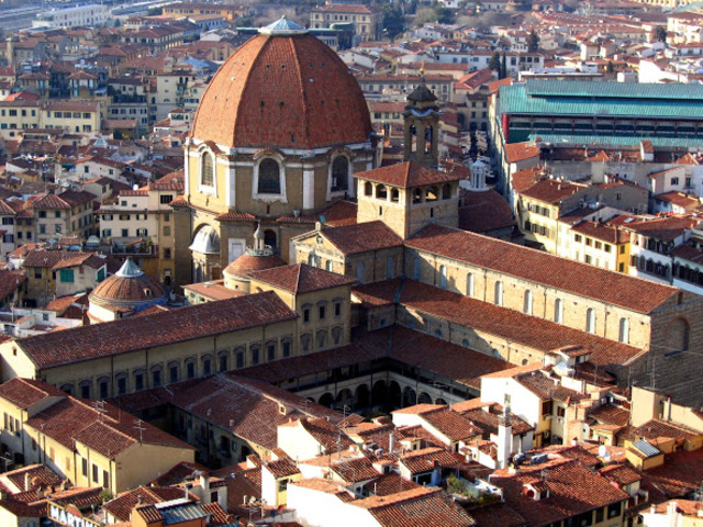 The Medici and the new city leader of Florence was expelled from the city