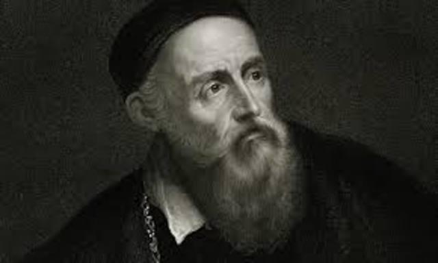 Titian died