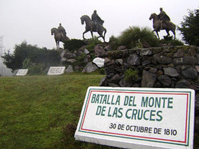 The Battle of Monte de las Cruces
